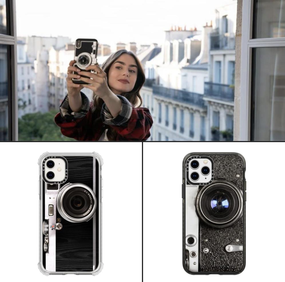 艾蜜莉在巴黎手機殼