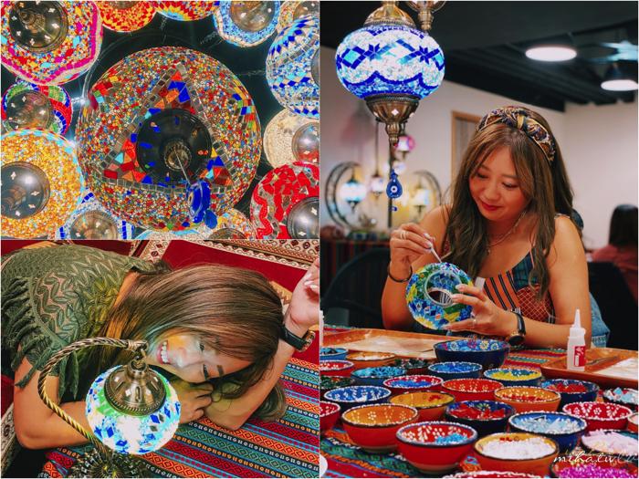 聖誕花圈,土耳其燈,掛畫,流動畫,台北好玩,週末好玩,生活儀式感,佈置