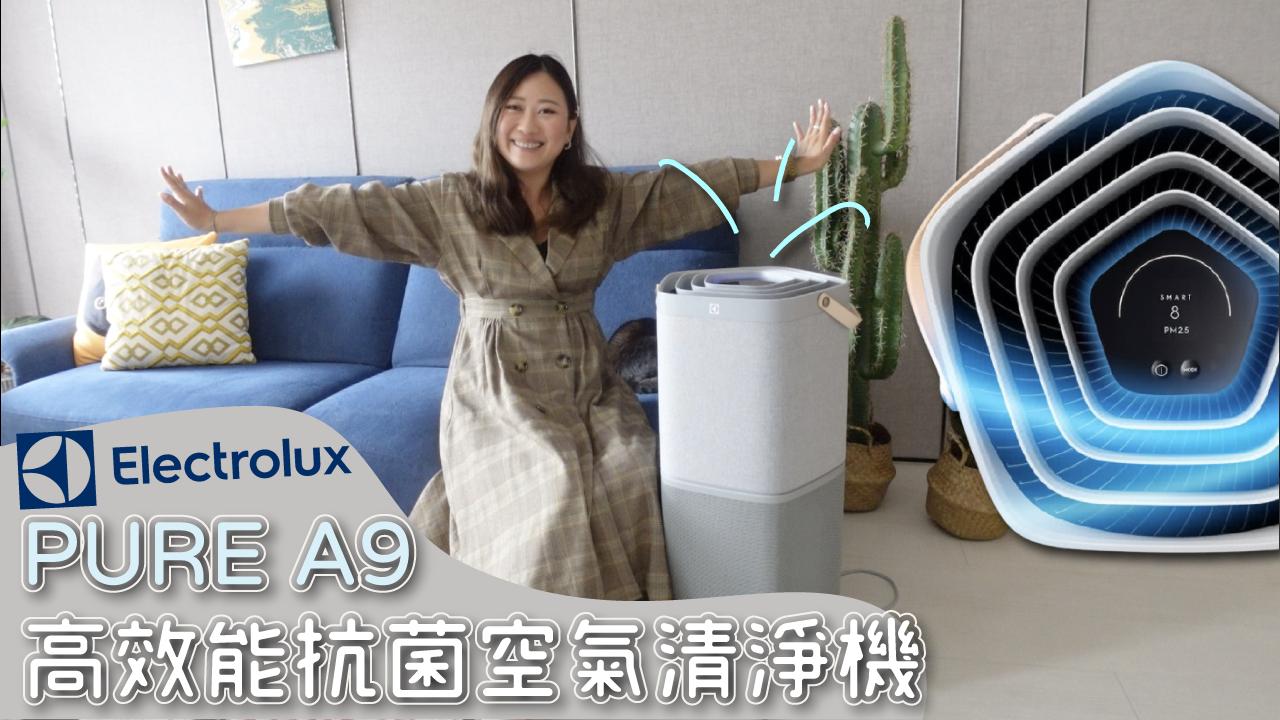 Electrolux,伊萊克斯,Pure A9,高效抗菌智能旗艦清淨,冰蹦拉團購,蹦拉購物台,空氣清淨機,家電團購
