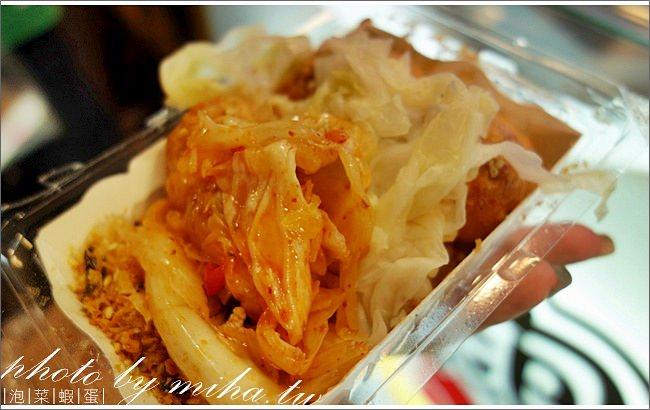 泡菜蝦蛋 冰蹦拉