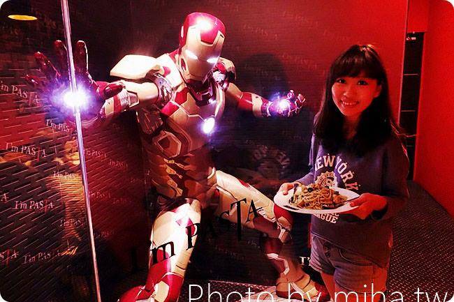 台北 ▌光華餐廳推薦:I'm PASTA,全台唯一鋼鐵人陪你吃義大利麵