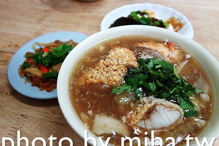 三峽 ▌三峽老街美食:用新鮮魚塊炸的土魠魚羹麵