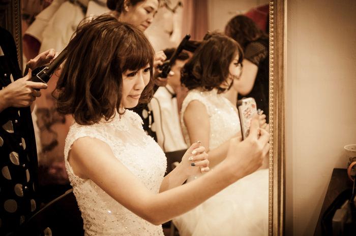 感覺 婚紗