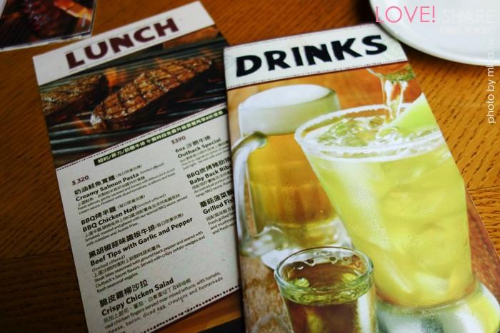 先是点主餐附的凯萨沙拉,-台北 ▌outback澳美客大口吃肉超过瘾 信