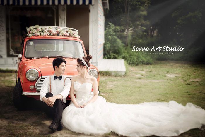 感覺攝影,台北韓式婚紗,韓式婚紗