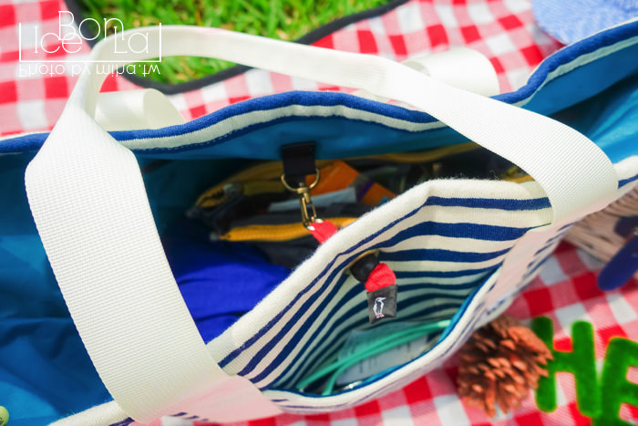 chums,休閒包,多口袋包包,海軍風包包,