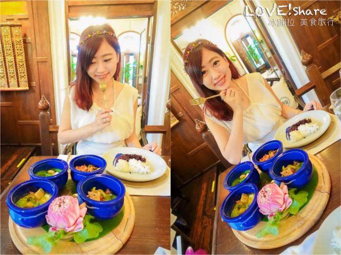 曼谷藍象餐廳,曼谷米其林餐廳,泰國米其林
