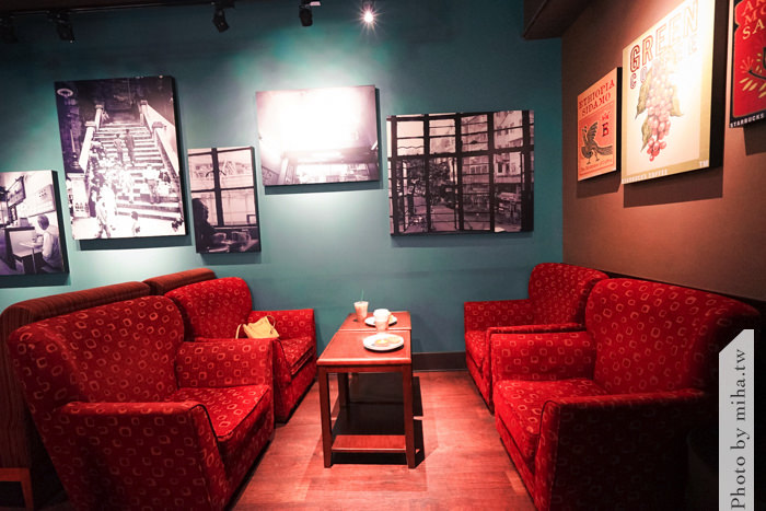 中環星巴克,香港星巴克,星巴克冰室角落,香港景點,香港美食