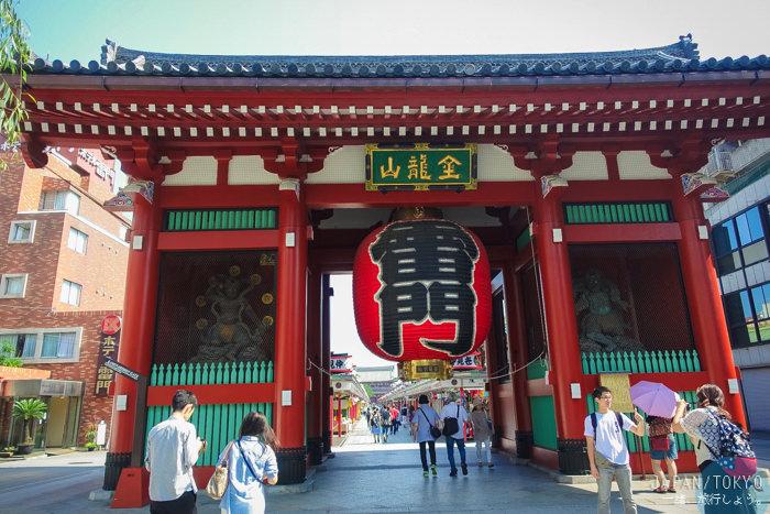 東京 ▌淺草雷門&仲介世通半日遊 花月堂波蘿麵包和抹茶冰好好吃