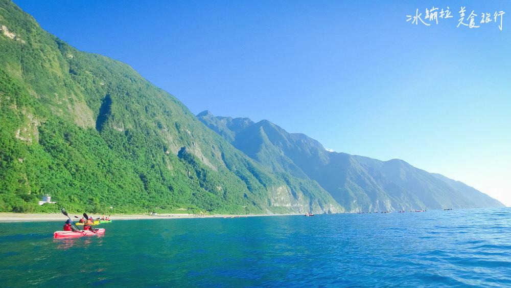花蓮自由行,花蓮好玩景點,花蓮好玩,花蓮海上獨木舟,清水斷崖獨木舟,