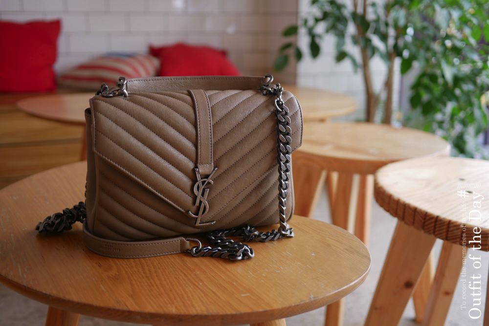 YSL college bag,mytheresa折扣碼,mytheresa購物教學,mytheresa7折