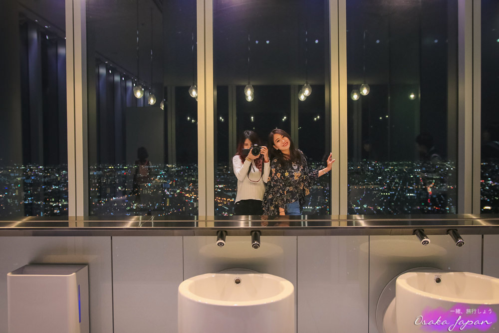 大阪haruka300,阿倍野展望台,大阪自由行,大阪夜景,大阪購物
