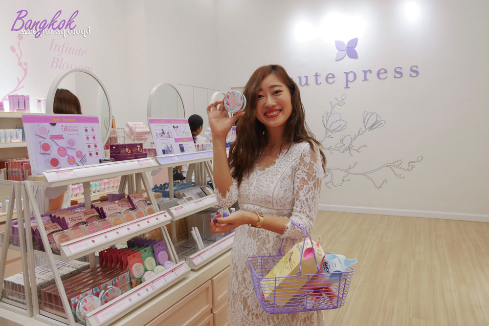 泰國cutepress,泰國彩妝,泰國迪士尼彩妝,曼谷自由行,曼谷必買