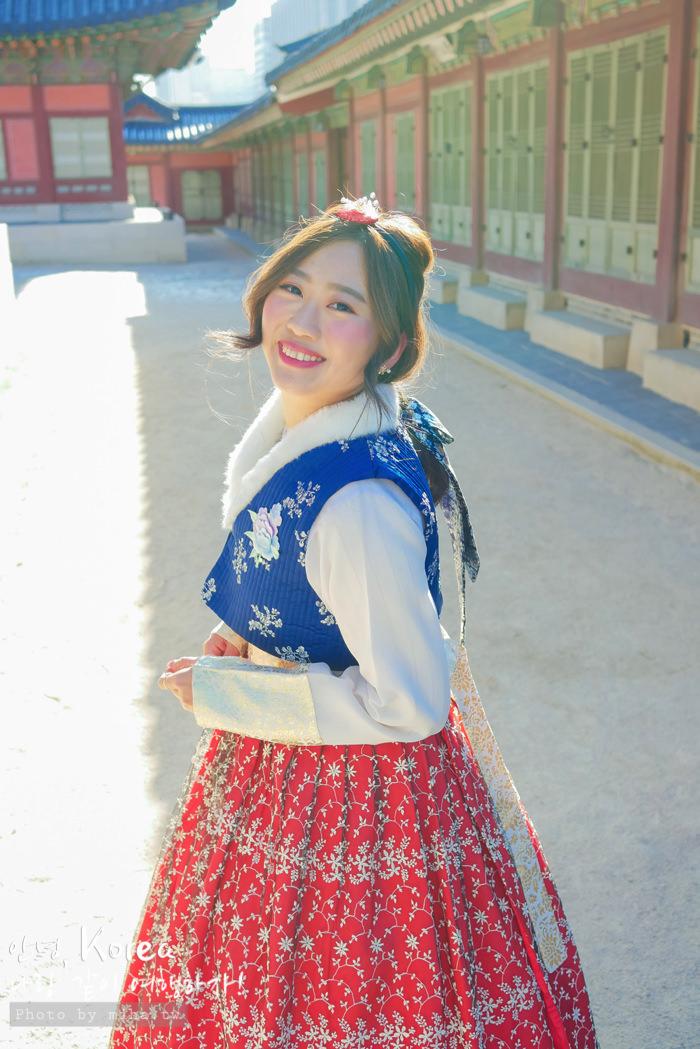 首爾自由行,韓服體驗,景福宮韓服,西花韓服,韓服推薦,首爾穿韓服