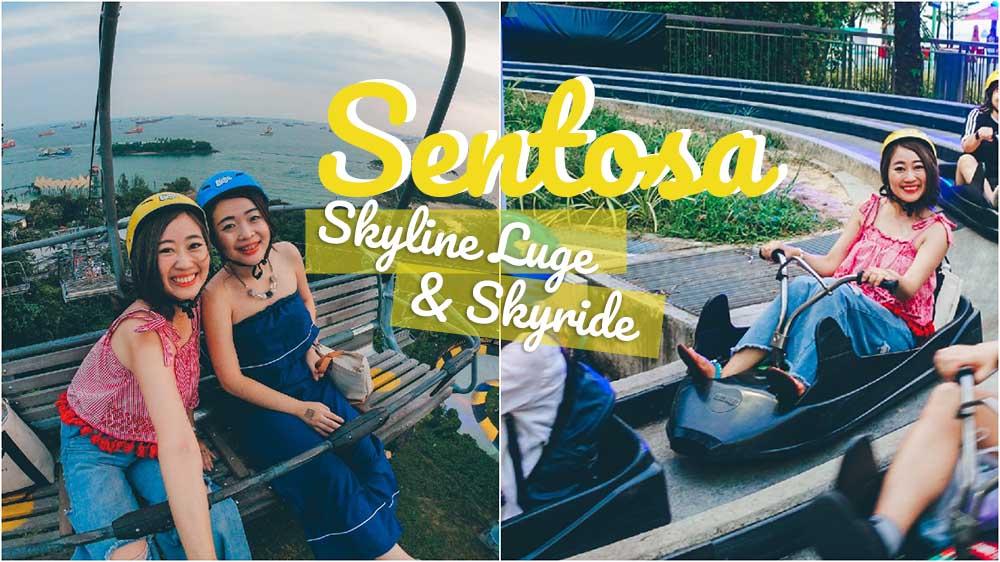 skyline luge,聖淘沙斜坡滑車,聖淘沙好玩,新加坡自由行,新加坡好玩,新加坡景點