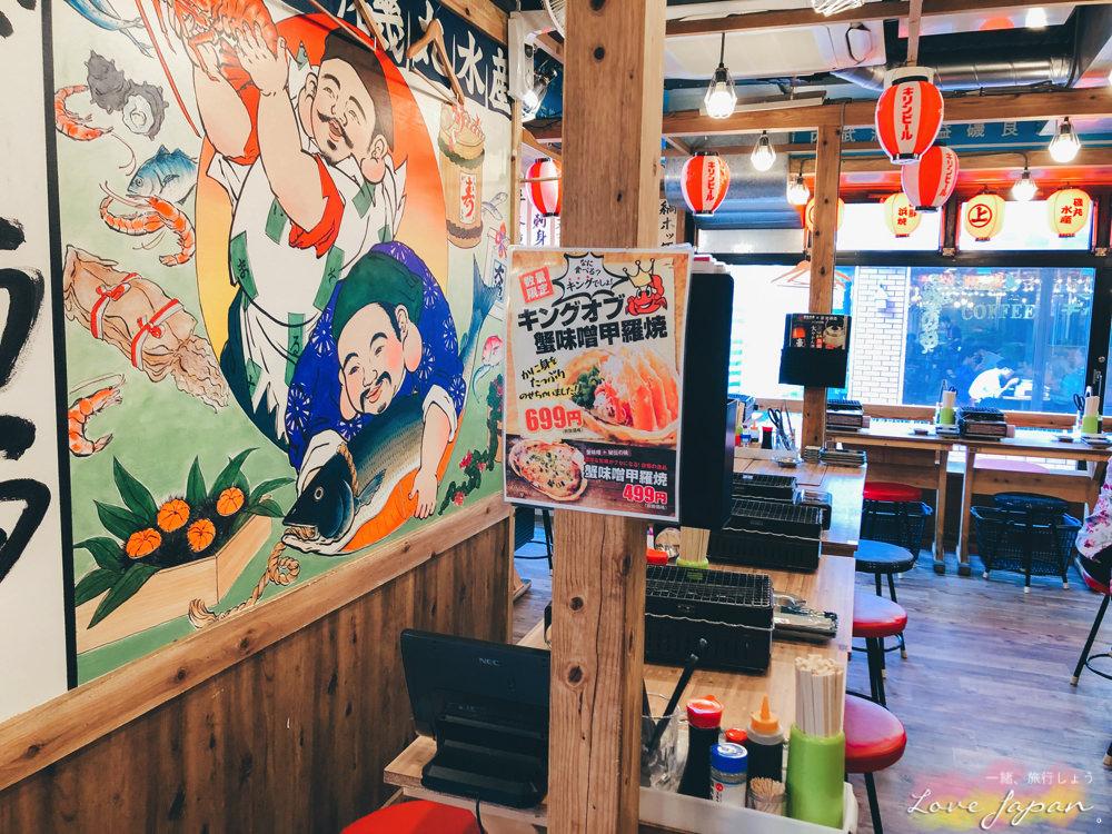 東京自由行,東京好吃,東京餐廳,東京居酒屋,東京海鮮,東京海產,磯丸水產