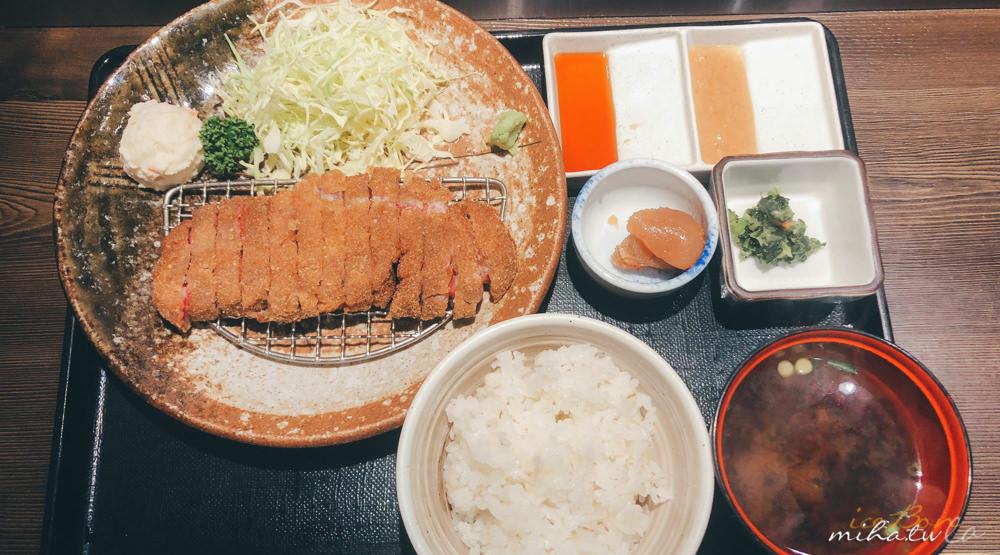 東京自由行,東京好吃推薦,東京景點,東京炸牛排,