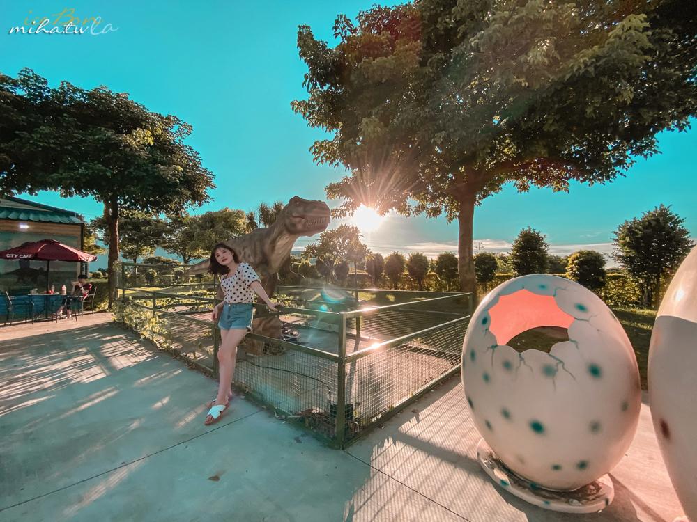 恐龍,恐龍711,桃園景點,青埔景點,侏羅紀世界,7-11祥綸門市