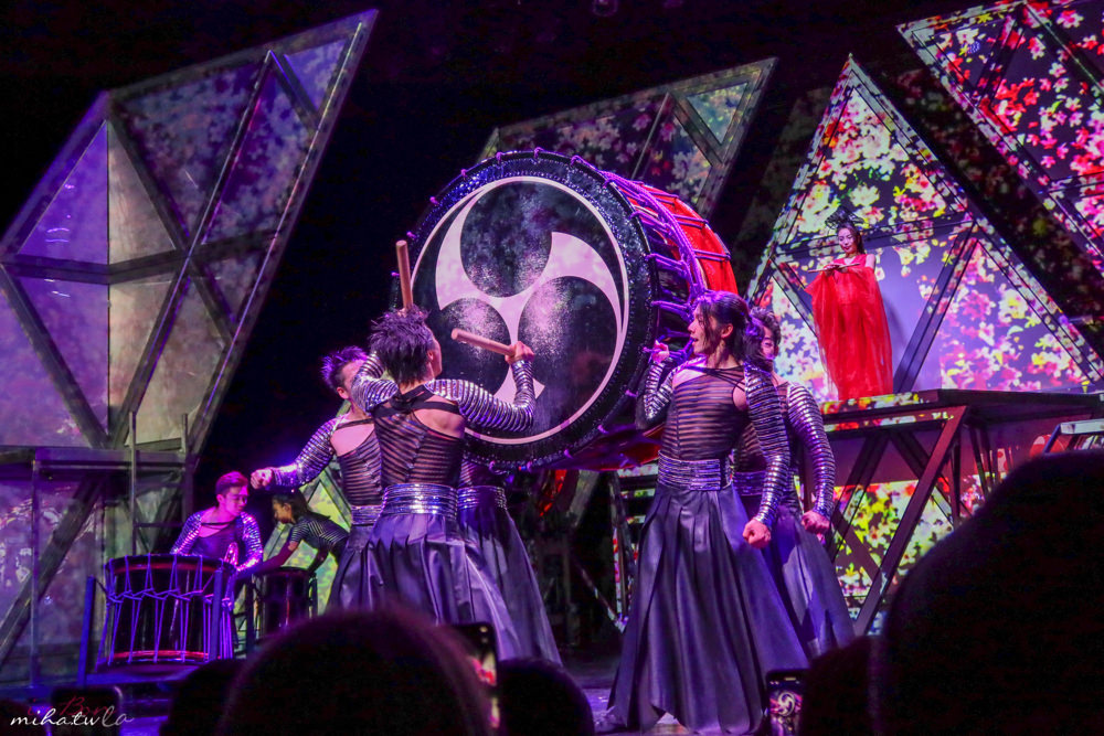 太鼓表演,東京自由行,銀座太鼓表演,MANGEKYO萬華響太鼓秀